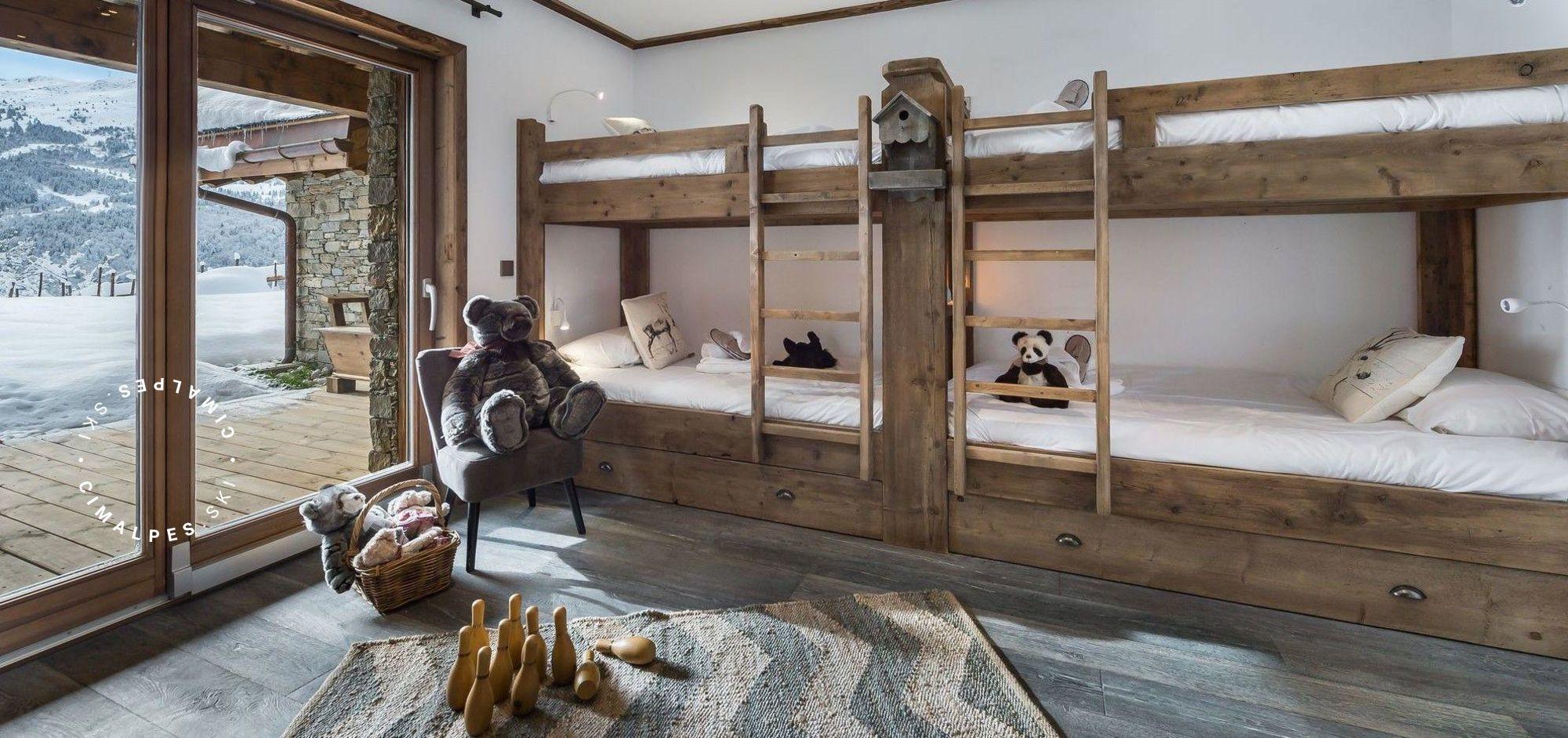 Chambre enfant - Chalet Queen Mijane - Méribel Village