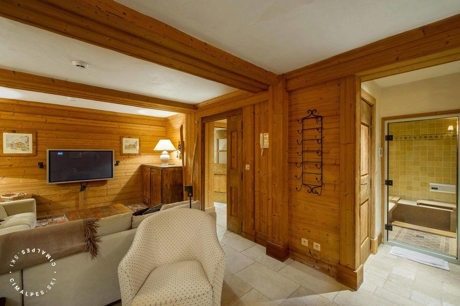 Chalet Aspen Courchevel relaxation room