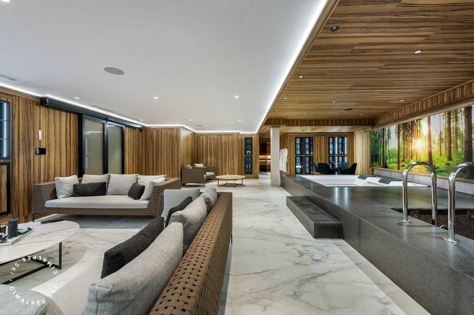 Wellness area - Chalet Aurore - Courchevel