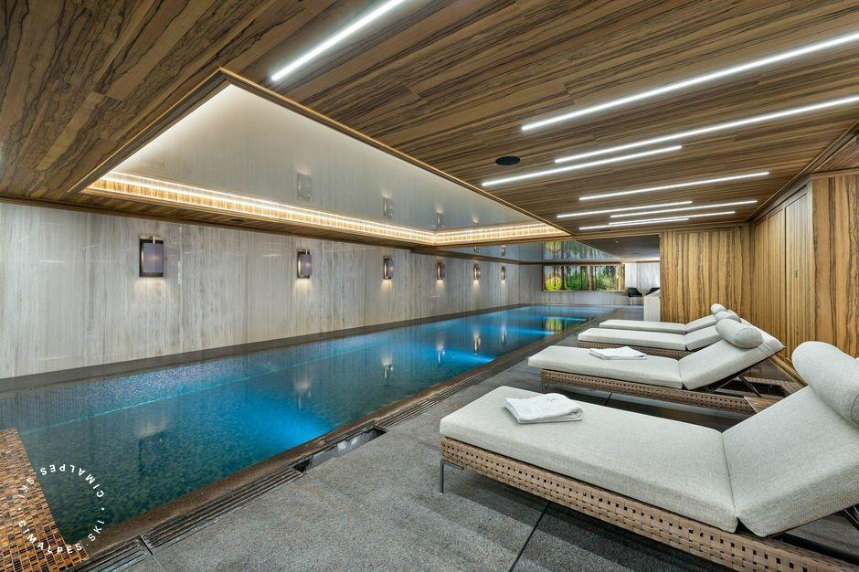 Swimming pool - Chalet Aurore - Courchevel