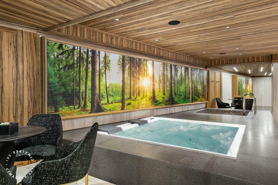 Jacuzzi - Chalet Aurore - Courchevel