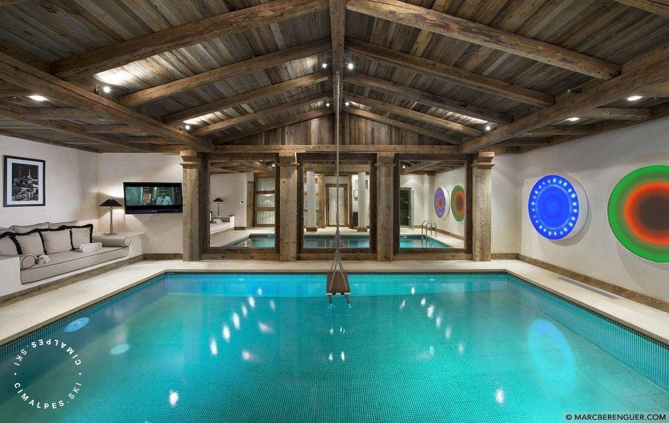 Piscine - Chalet Grande Roche - Courchevel 1850