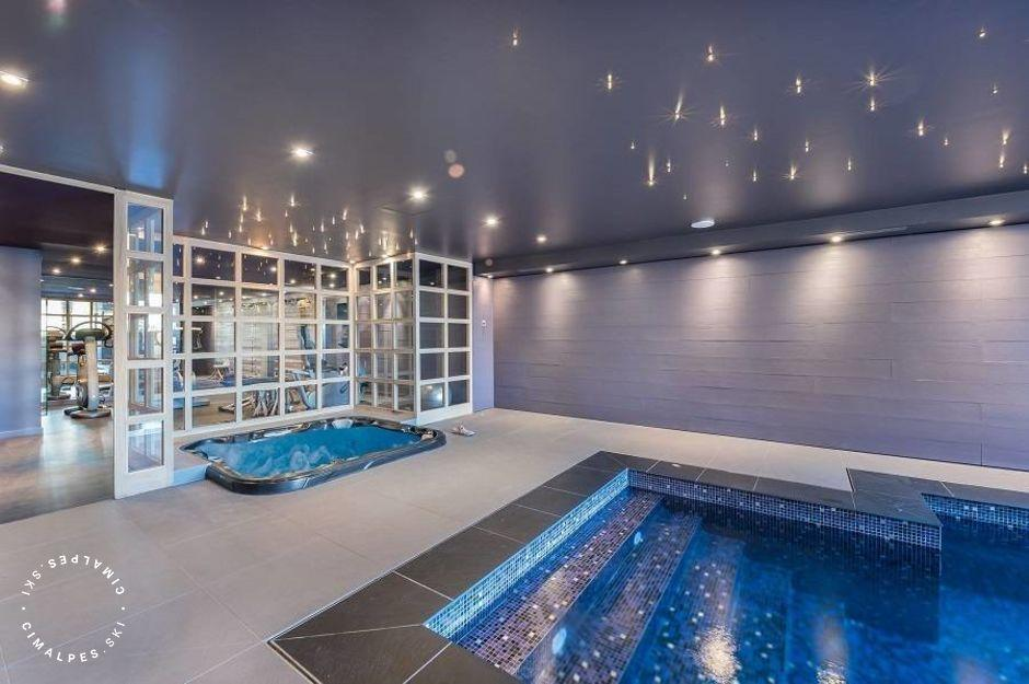 Chalet Licorne Courchevel Moriond - Piscine