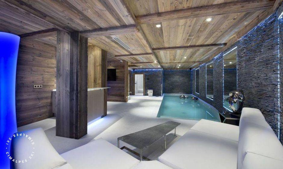 Chalet Eden Courchevel piscine
