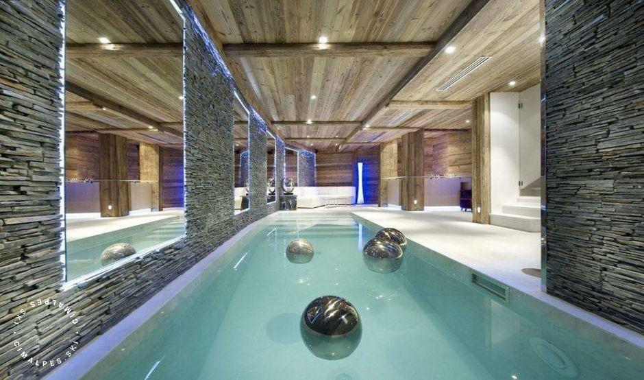 Chalet Eden Courchevel swimming pool